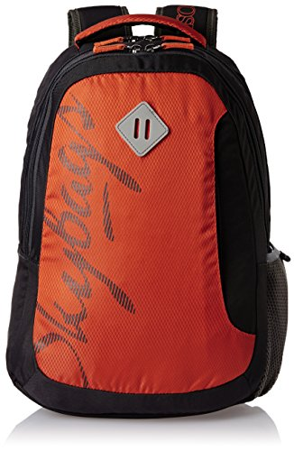 Skybags Leo 26 Ltrs Orange Casual Backpack (BPLEO1ONG)  available at amazon for Rs.1205