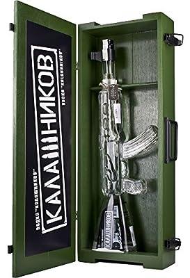 Kalashnikov AK-47 Vodka Gun in Holzkiste 40% 1 l