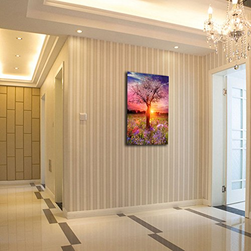 DIY 5D Tree Diamond Painting Cross-Stitch for Entrance Living Room Bedroom - 4