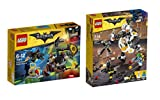 LEGO The Batman Movie Bauset: 70913 - Kräftemessen mit Scarecrow + 70920 - Egghead bei der Roboter-Essenschlacht, Spielzeug