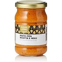 Marque Amazon - Wickedly Prime Pesto de ricotta et noix (6x190g)