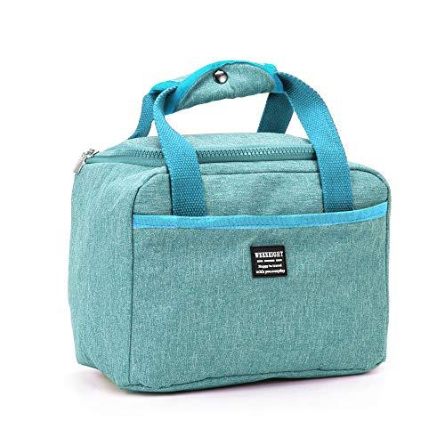 honglilai Cool. Thermische Isolierung Oxford Wasserdicht Lagerung von Lebensmitteln Picknick Pouch Lunch Bag Lunch Box(Dark Green) Green Food Storage