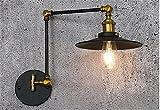 Letti in ferro battuto con braccio lungo la parete decorativa lampada testiera letto matrimoniale luce da parete