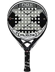 Nox ML10 Pro P3 Pala de Pádel, Unisex Adulto, Negro, Talla Única