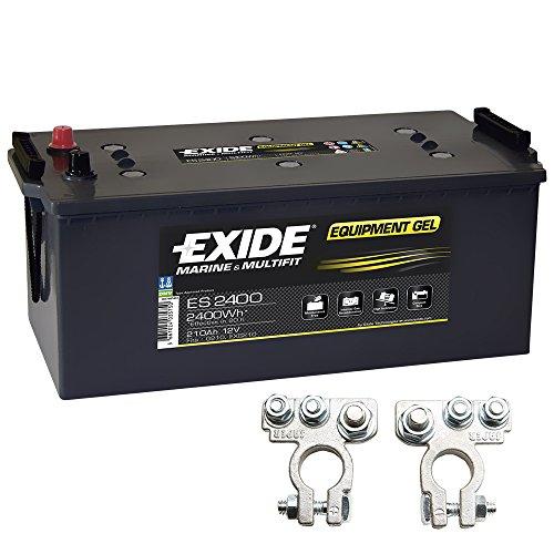 Preisvergleich Produktbild Exide Equipment Gel Batterie ES 2400 12V 210Ah G210 inkl. Polklemmen Boot Solar Wohnmobil