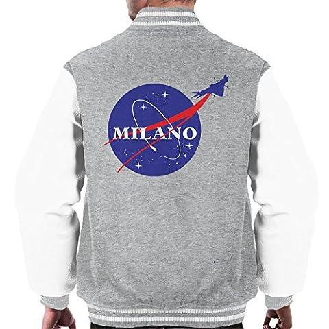 Guardians Of The Galaxy Milano Nasa Logo Men's Varsity Jacket