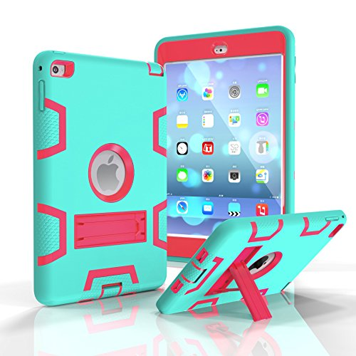 eastchina® Apple iPad Air 2Hülle, Top Qualität stoßfest Kinder Schutzhülle mit Standfunktion, Super Leichtes EVA Ständer Schutzhülle für Apple iPad Air 2| iPad 6(6Generation) 24,6cm Tablet