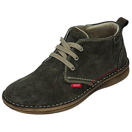 Zen Uomo mezzo Schuhe 550366, Marrone (Schlamm), 41 EU