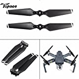 #10: 1Pair 8330F ABS Quick Release Black Folding Propeller Prop Blades CW / CCW For DJI Mavic Pro RC Drone Quadcopter Spare Part Accs