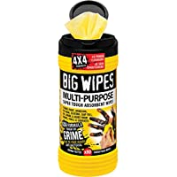 Big Wipes 2410 4 x 4-inch Multi-Purpose Cleaning Wipes (Pack of 80)