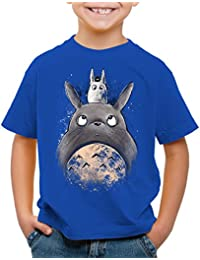 e414390e7 style3 Totora Friends Camiseta para Niños T-Shirt mi Vecino Tonari no