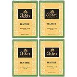 Aster Luxury Tea Tree Bathing Bar 125g - Pack of 4