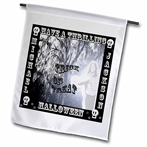 3dRose Michael Jackson Thriller Halloween Grußkarte–Garten Flagge, 12durch 45,7cm