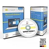 Microsoft® Windows 7 Professional Pro. Original-Lizenz 64 Bit. Deutsch und ML. Audit Sicher, S2-ISO DVD, Lizenz. CLP Zertifikat