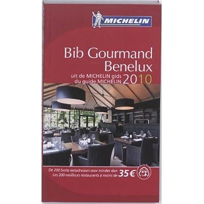 Bib Gourmand Benelux 2010 2010