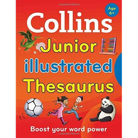 Collins Junior Illustrated Thesaurus [Second Edition] (Collins Primary Dictionaries) by Collins Dictionaries (2014-08-01)