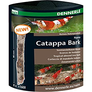 Dennerle Nano Catappa Bark Tropical Almond Tree Bark - 8 pcs. 15