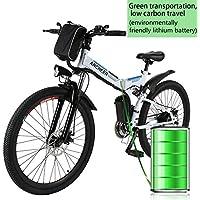 Coorun MTB E-bike, 26 pulgadas S de bicicleta plegable, plegable para bicicletas