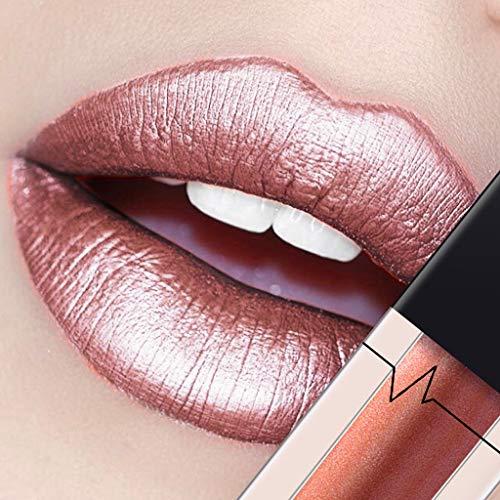 OVERMAL Lippenstift, Lipgloss, Matte Liquid Lipstick, Lippe Gloss, PUDAIER Sexy Liquid Lip Gloss...