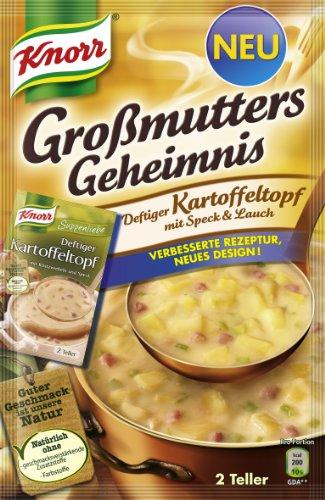 Preisvergleich Produktbild Knorr Großmutters Geheimnis Deftiger Kartoffeltopf mit Speck und Lauch,  9 x 2 Teller (9 x 600 ml)