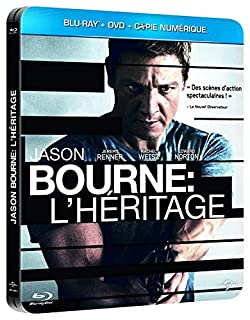 Jason Bourne : L'Héritage Limitée Métal Copie Digitale [Combo Blu-Ray + DVD-Édition boîtier SteelBook] (B009CAMJWQ) | Amazon price tracker / tracking, Amazon price history charts, Amazon price watches, Amazon price drop alerts
