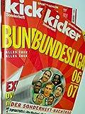 KICKER SONDERHEFT Bundesliga 2006/2007 mit Stecktabelle & Sonderheft-Nachtrag, sportmagazin, Deutschlands grösste Sportzeitung 4198520105407