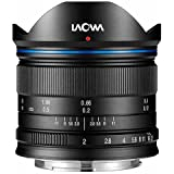 Venus Laowa 7.5mm f/2 Lens Lightweight for Micro Four Thirds Mount, Black