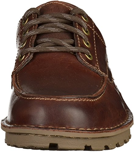 ClarksSawtel Ridge - Derby Uomo Brown Leather