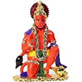 Speedwav 28237 Lord Hanuman Car Dashboard God Idol (Orange)