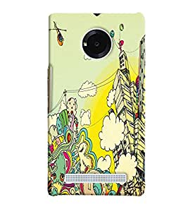PRINTVISA Abstract Art Case Cover for Micromax YU Yuphoria