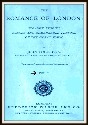 The Romance of London V1 (English Edition)