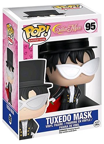 Funko Pop Mamoru Chiba 'Tuxedo Mask' (Sailor Moon 95) Funko Pop Sailor Moon