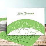 Einladungskarten Kommunion ohne Foto