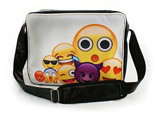 Preisvergleich Produktbild Oryginale Umhängetasche Schultasche Sporttasche Messenger Laptop Bag 20 Varianten Emoji Big