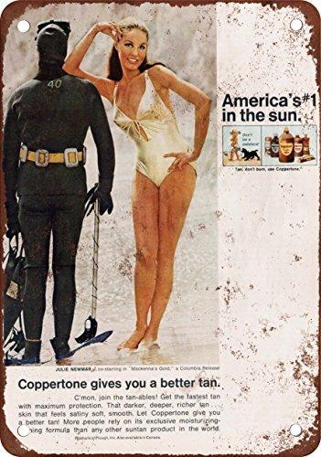 placa-metalica-para-la-pared-1969-julie-newmar-para-coppertone-aspecto-vintage-reproduccion-metal-ti