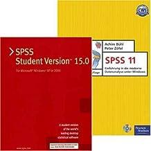 SPSS 15.0 Student Version -auch für Vista - (Mehrwertpack) + Buch  SPSS 11. Einführung in die moderne Datenanalyse