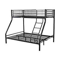 Montreal Black Triple Metal Bunk Bed
