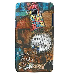 Citydreamz Music Feeds The Soul/Guitar/Fun Hard Polycarbonate Designer Back Case Cover For Samsung Galaxy J2 Pro