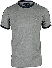 Fred Perry Taped Ringer, T-Shirt Homme, Noir