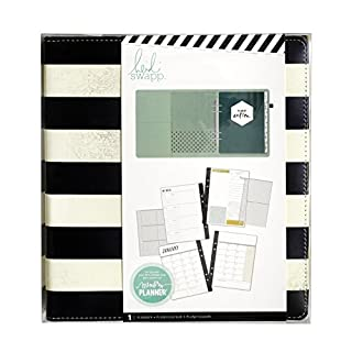 American Crafts 319915Heidi Erinnerungsplaner, 122 Seiten, mit großen Streifen
