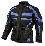Bangla Kinder Motorradjacke Tourenjacke Textil 1152 Schwarz Blau 164