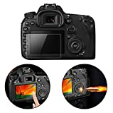 SHOPEE BRANDED Clear Tempered Glass Film Camera LCD Screen Protector Guard for CANON 1300D