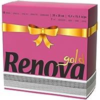 Renova Servilletas de Papel Gold Burdeos - 40 Servilletas