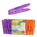 Oryx 5162000 - Pinzas para tender ropa, plástico, 24 piezas
