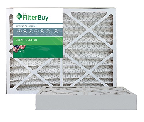 Ofen-filter 20x24x2 (Ofen Filter/Air Filter – AFB Platinum Merv 13 (2 Pack), AFB20x24x4M13pk2)