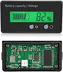 AST Works Status Voltmeter LCD Indicator Auto 48v Battery Voltage Lead-Acid Power Display