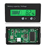 #9: AST Works Status Voltmeter LCD Indicator Auto 48v Battery Voltage Lead-Acid Power Display