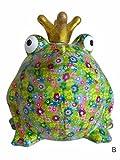 Süße Spardose ~ Froschkönig XL B ~ Pomme Pidou Frosch Sparbüchse Geldgeschenk