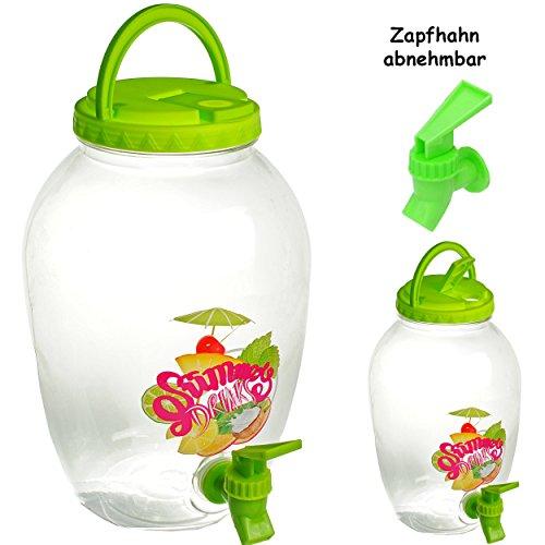 3 Stück _ 4 Liter - großer Getränkespender -