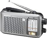 Sangean MMR-77 Tragbares Radio (UKW Tuner, LED) silber